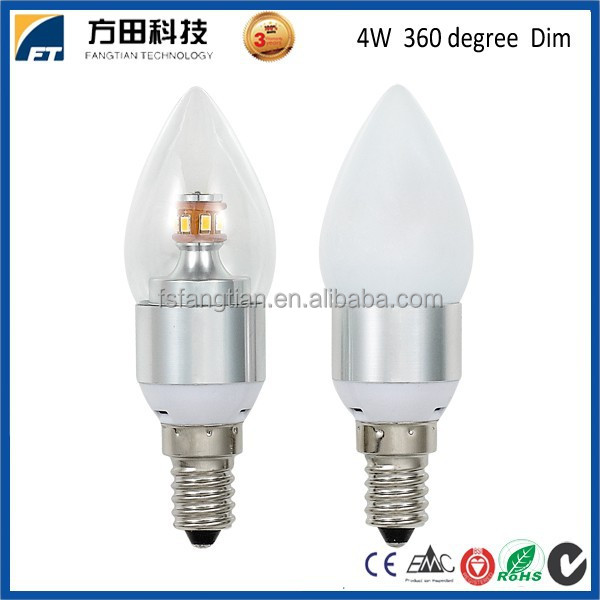 Guangdong Foshan Led Lighting Manufacturer Ce Rohs Dimmable E14 Led Light Bulbs Wholesale Buy