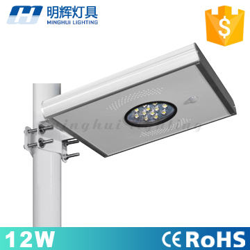 Made in China High quality 12w all in one solar street <strong>light</strong> for outdoor garden street lighting