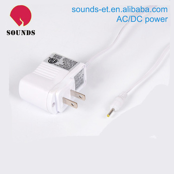 Available AC/DC adapter with safety overcurrent protector