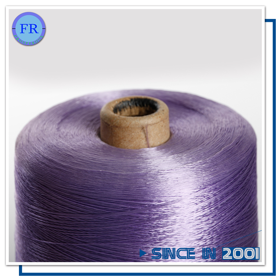 High Quality Eco-Friendly 300d/60f rayon yarn dope dyed