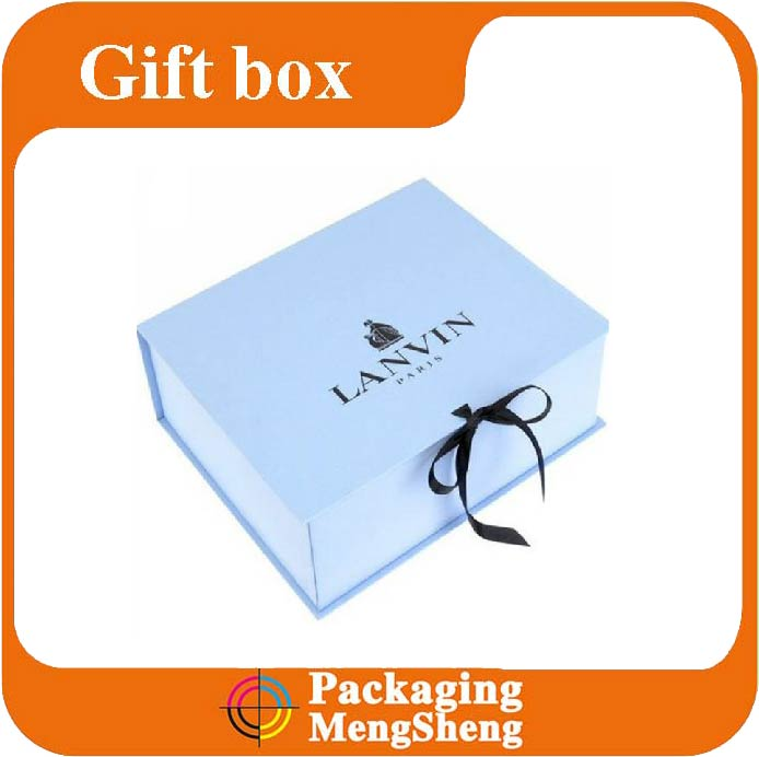Fashional paper gift box for jewelry custom logo gift box packaging for crafts folding gift box
