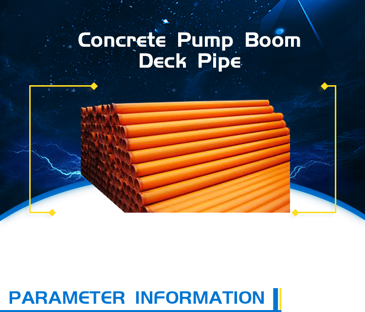 concrete boom pump parts twin wall elbow pipe