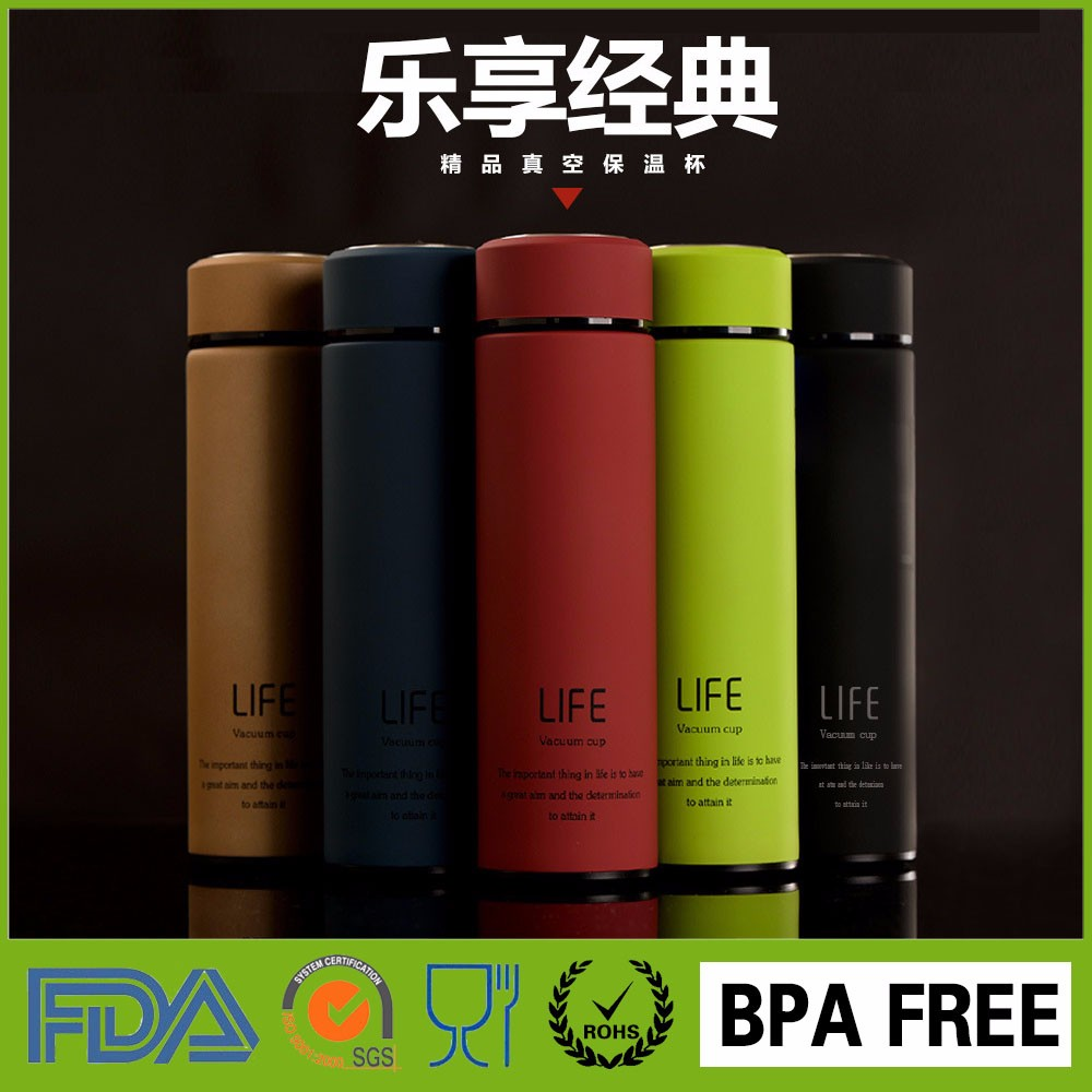 custom sports sublimation stainless steel filtered drink water bottles