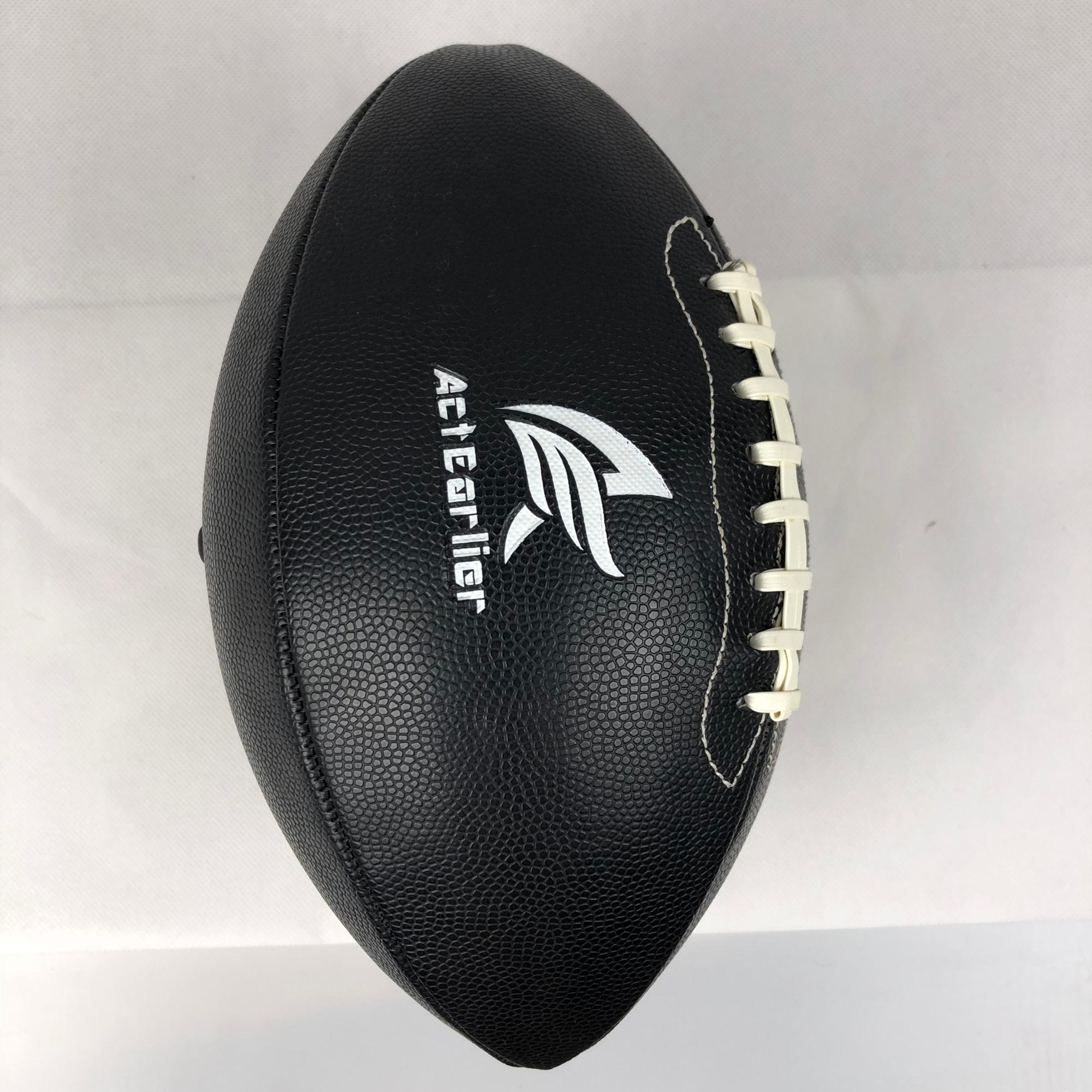 ActEarlier outdoor sportartikelen Alle black American football rugby ball