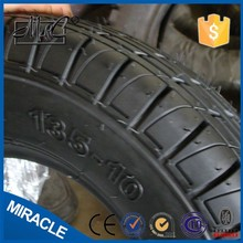 Alibaba special to Pakistan TT TL scooter tire rubber motorcycle tyre 135-10
