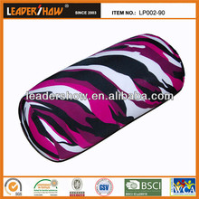 tube shape outdoor more comfortable microbead cushion and pillow