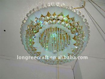 Zhongshan guzhen Crystal Pendant Lighting for High Ceilings