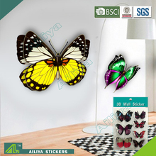 ALY0248 Professional Living Room Butterfly Home Decor Wall Sticker