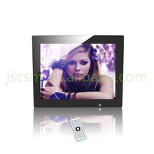 Shenzhen factory directly supply 12 inch picture photo frame blue picture video