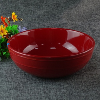 High Quality Large Red Color Sauce Serving Bowl For Food And Fruit