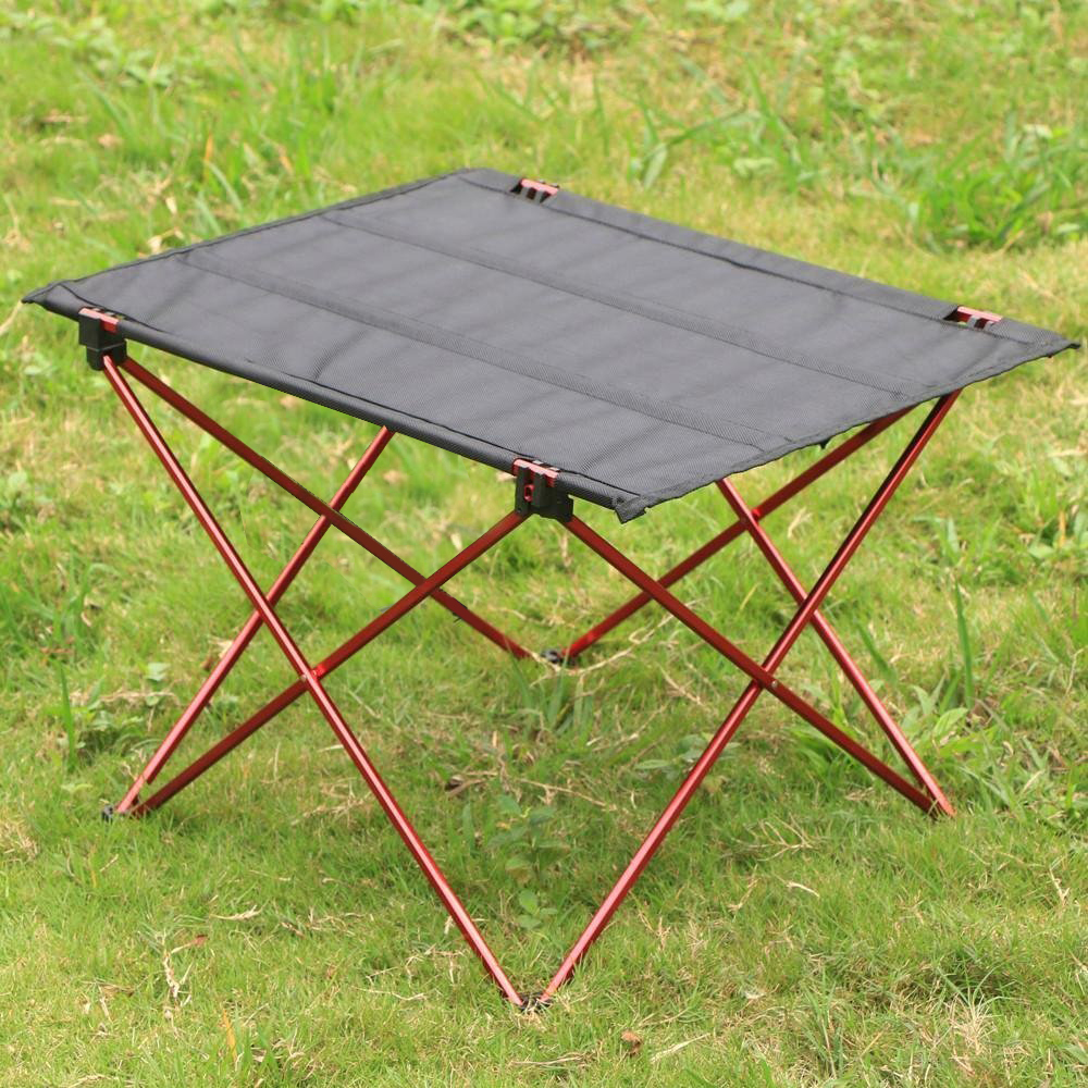 Lightweight Folding Table Outdoor Furniture, Camping Hiking Picnic Gardon Table, Aluminum alloy Metal Dinning BBQ Fishing Table