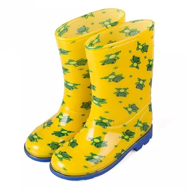 New Patterns Colorful Half Rain Boots For Children