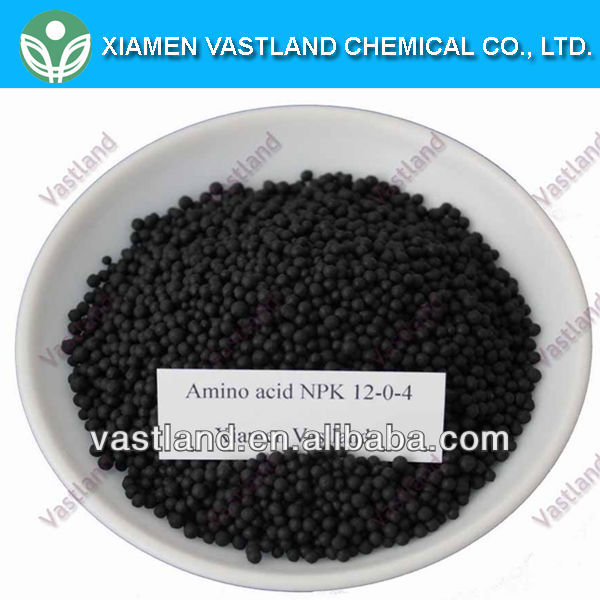 Vastland high quality em organic fertilizer npk 12-0-4