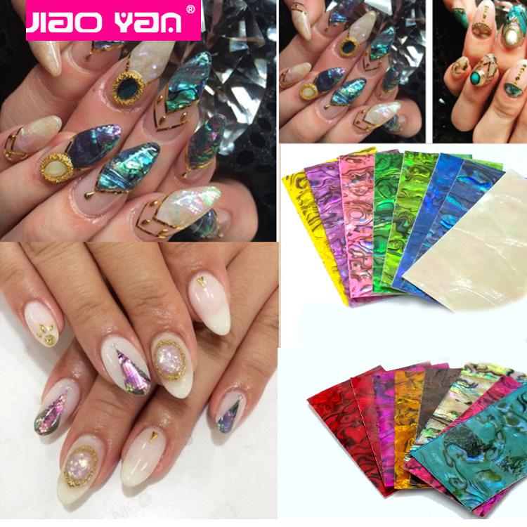 Self Adhesive Nail Shell Strip/Nail Art Transfer Sticker #2314