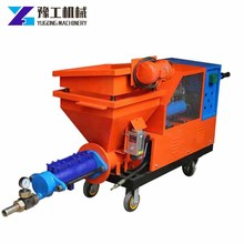 Best selling top quality wall putty spray machine gypsum good