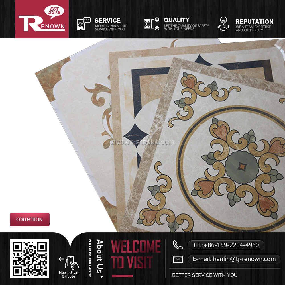 Discontinued ceramic tile