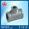 A234 wpb plastic pipe reducing tee with CE certificate