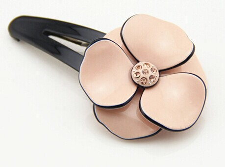 Lovely flower acetate acrylic hair clip