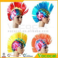 Halloween Decoration Props Outfit Carnival Party Mohawk Wig