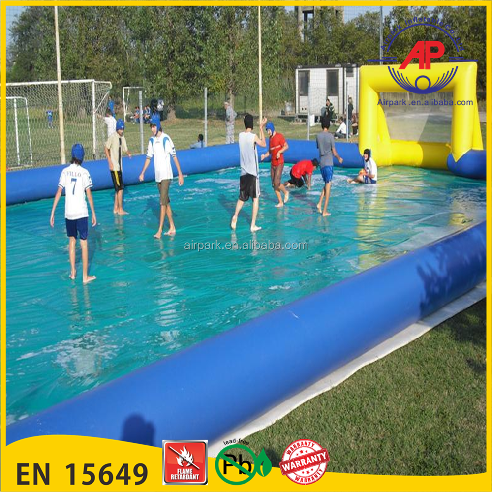 Hot sale Inflatable interactive sport field,soccer games,inflatable foosball games