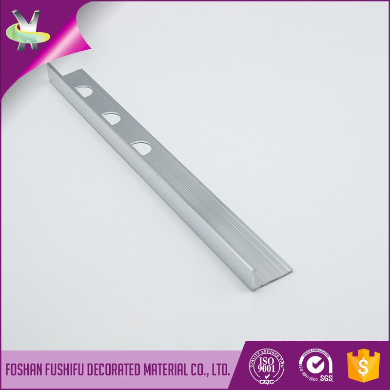 Free sample available L shape ceramic flooring tile aluminum edge trim