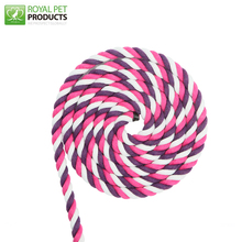 wholesale 8mm Braided Soft colored decorative cotton rope