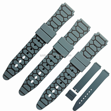 Eco-friendly Nontoxic Durable Camo Silicone Watch Strap/ Watch Bands