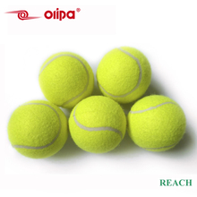 Manufacturer promotional personalized colored tennis ball for beginner training in bulk with wholesale price