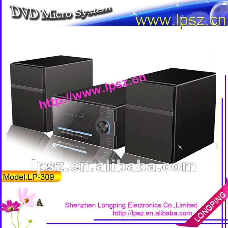 2.0 DVD Mini combo with USB/FM/Card reader