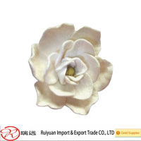 Delicate Lifelike Appearance felt flower for clothes decoration
