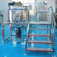 Space saving lab emulsifying mixer /spices mixing machine /cream mixing machine