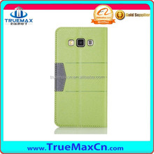 Leather cheap mobile phone case for Samsung A5, real leather case for Samsung A5 made in China