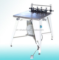 Screen printing vacum table, precision manual vacuum flat bed screen printer