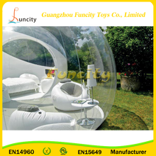 Inflatable bubble hotel for beach/ camping /trade show/wedding/parties/ garden having fun