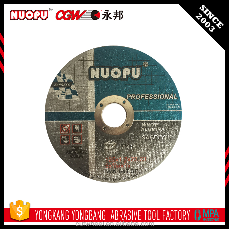 Design For Grinders stainless steel grinding cutting disc