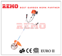 gasoline powered brush cutter grass trimmer not electric
