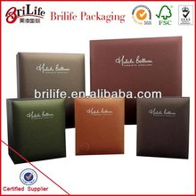 High Quality Fashion Watch packaging craft paper Wholesale