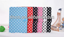 "Polk Dot PU Leather Case Cover Skin for iPad Mini 7""tablet"