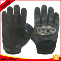 Leather gloves black color camo grenn color US army issued cold-wet military gloves