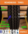 Chinese factory net price with high quality ROADBOSS truck tire 11.00R20 RM911Pattern