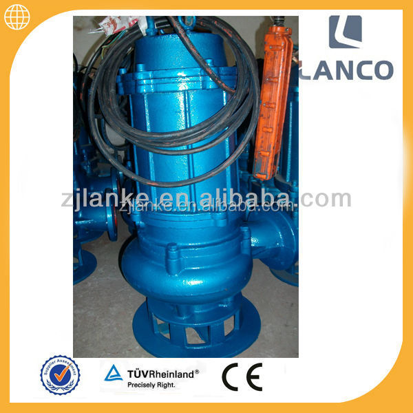 SS316 QW Submersible Sewage Pump For Sea Water Treatment