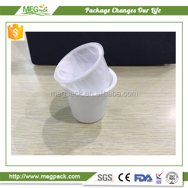 2017 Factory outlet disposable k-cup filter for keuring brewer with built-in filter