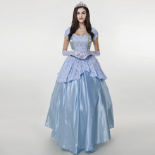 Onen Blue Palace installed code Halloween Costume Sissi fairy tale Queen Costume