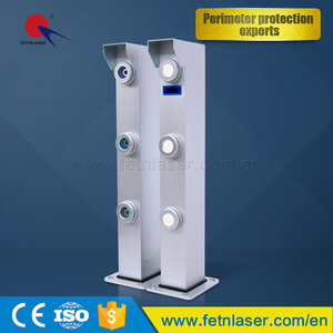 500m Outdoor detector beam security alarm perimeter intrusion detection systems