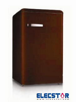 retro refrigerator , SINGLE doors,of different colors, table top