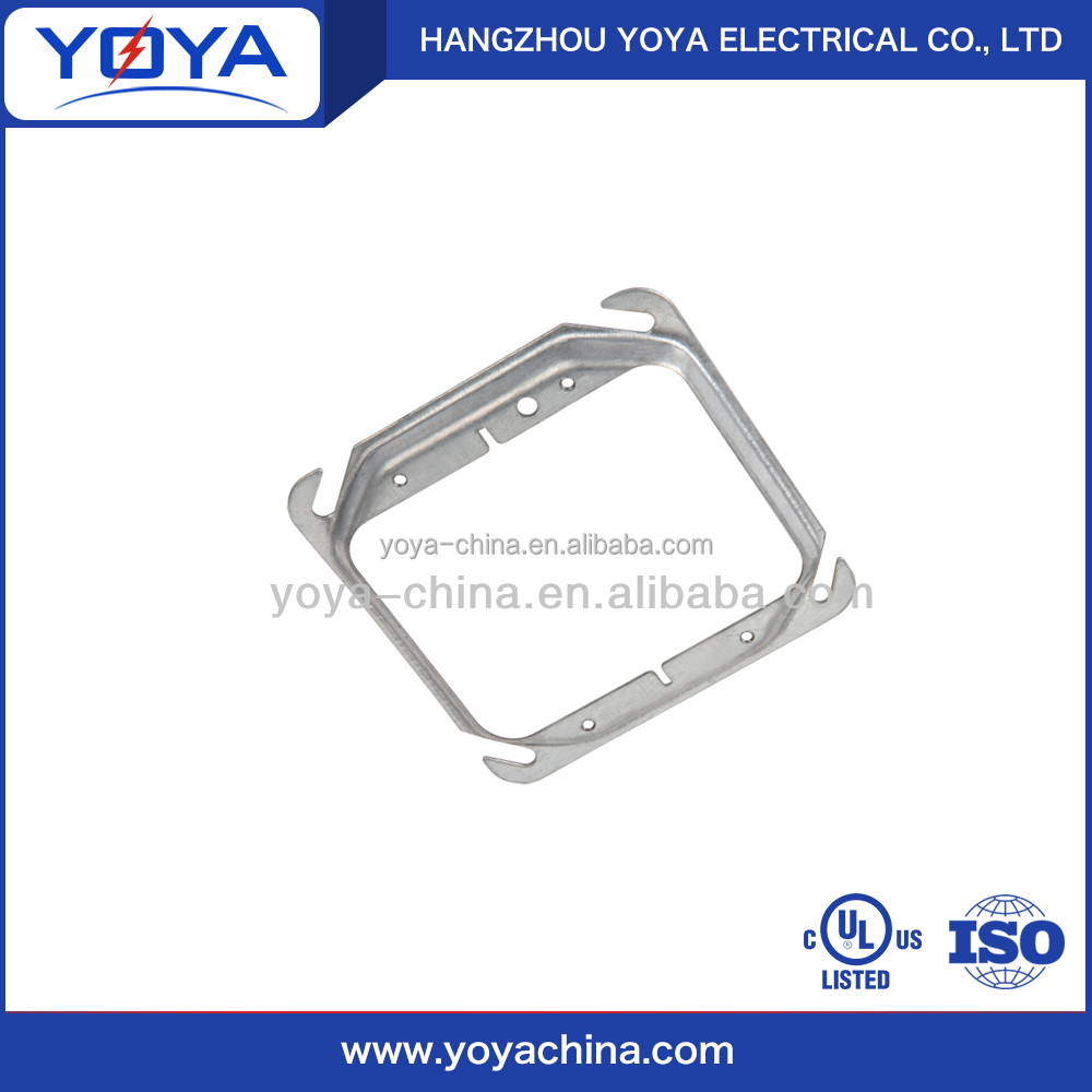 Electrical square steel conduit box cover