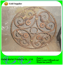 home decor wrought iron fake tile panels