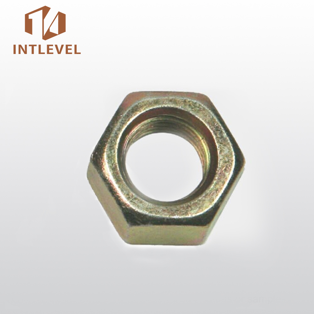 Intlevel Carbon Steel DIN934 Hex Nut bolt and nut