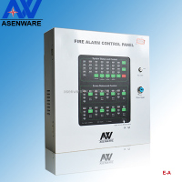 Self-development 4 zones coventional fire alarm panel,each zone have single button AW-CFP2166