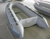 china inflatable boat White inflatable sailing boat inflatble fishing boat